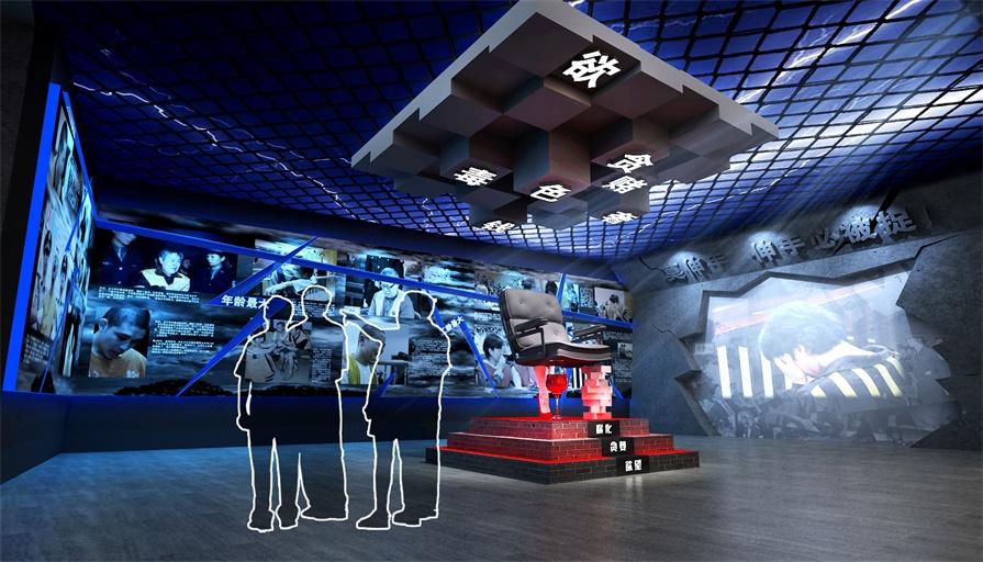 互动多媒体展厅_数字化有线会议系统