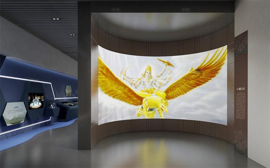 科技多媒体展示厅告诉你,科技与文化能碰撞出什么样的火花?_展馆设备
