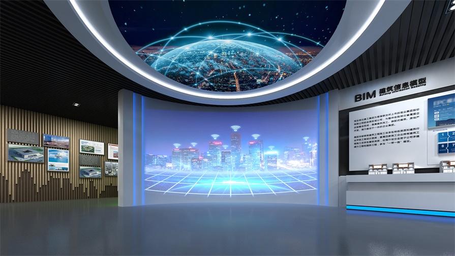 投影多媒体展馆,一个被科技玩转的互动展厅_互动技术