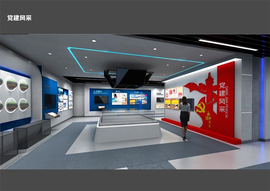 展厅影视多媒体互动展示,科技与文化的碰撞_数字展馆