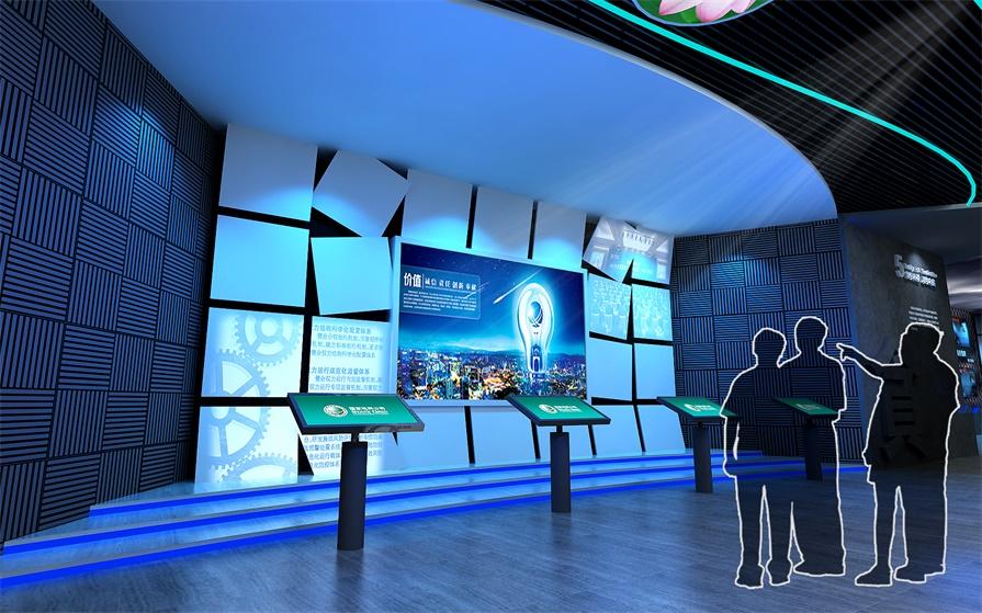 展示厅自动化多媒体告诉你,科技与文化能碰撞出什么样的火花?_展馆设计
