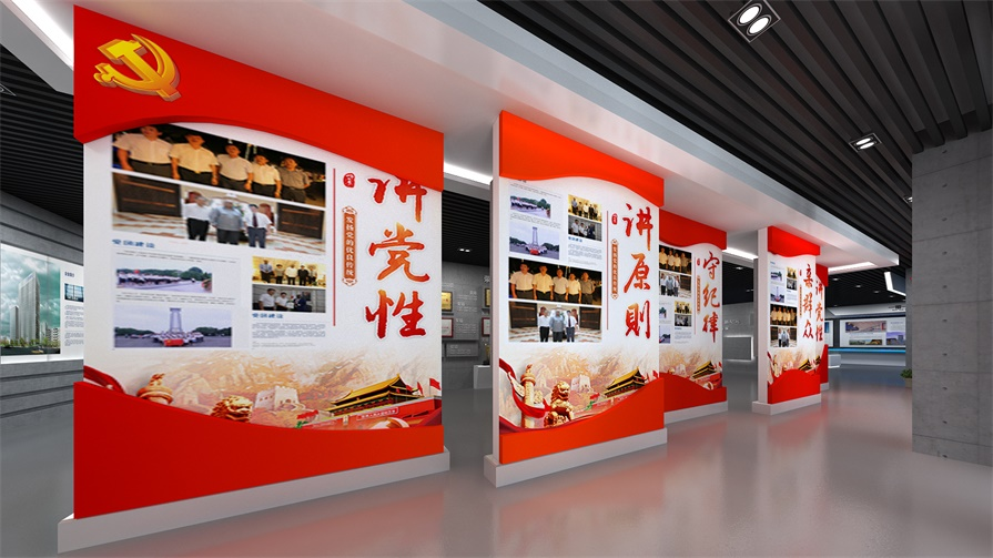 展示厅科技多媒体带你玩转黑科技_展馆设计