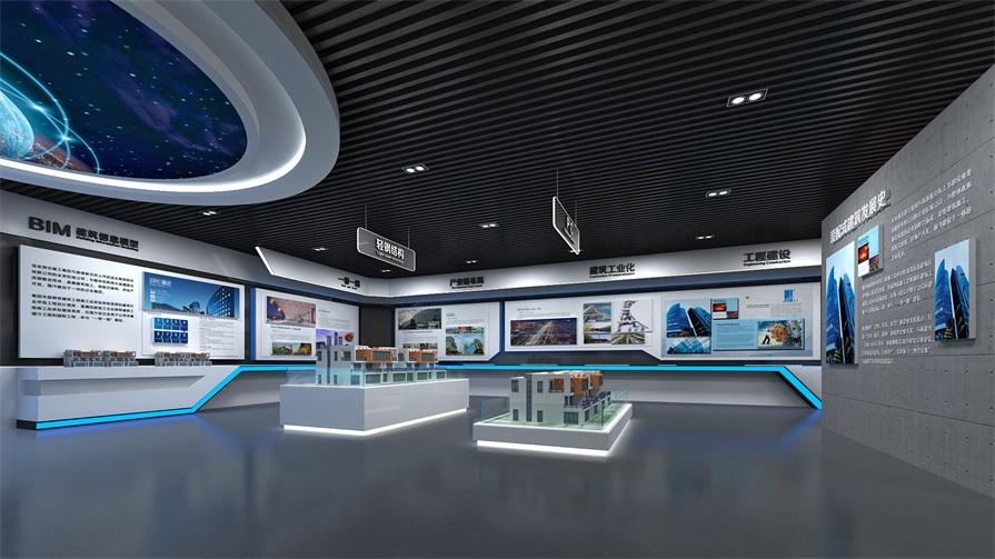 互动多媒体为什么要在多媒体智能展馆展示?_展厅数字化