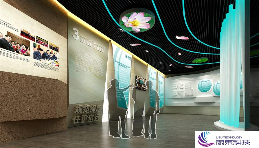 多媒体科技展示厅,圆你科幻梦想! _数字展馆