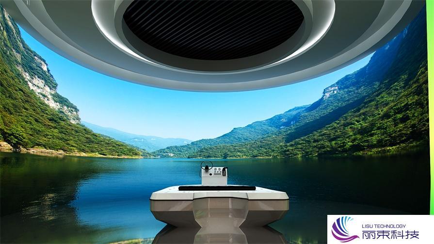桌面互动时光隧道,带你走进不一样的数字多媒体设备_展馆设备