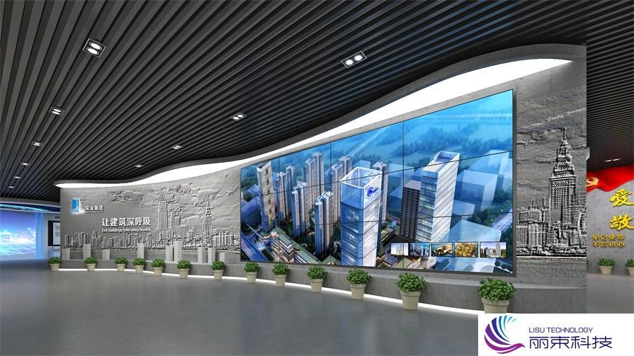 桌面互动时光隧道,带你走进不一样的科技多媒体装置_展馆设备
