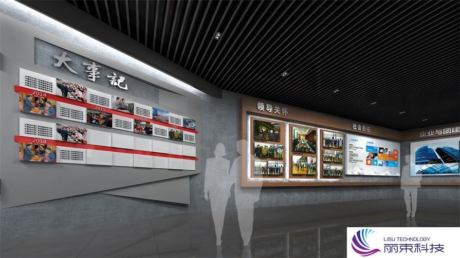 桌面互动时光隧道,带你走进不一样的影视多媒体设备_展厅数化字