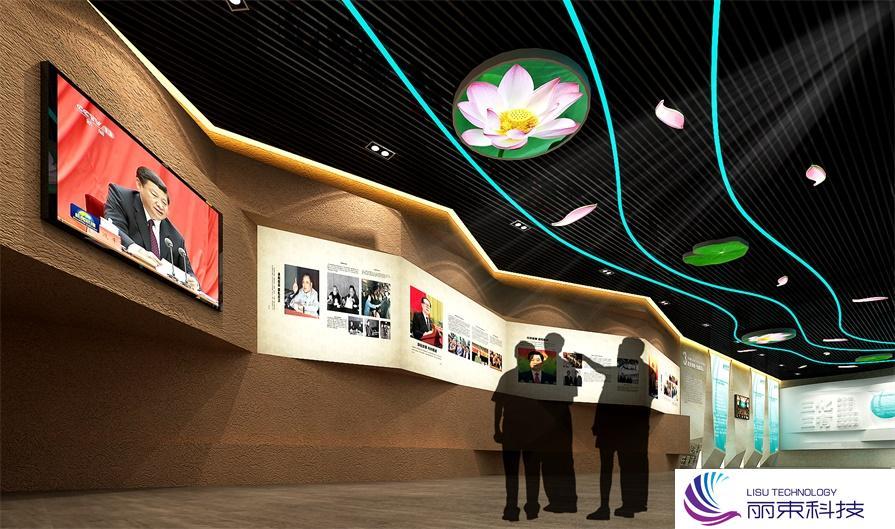 多媒体自动化施工,一个被科技玩转的互动展厅_展厅设备