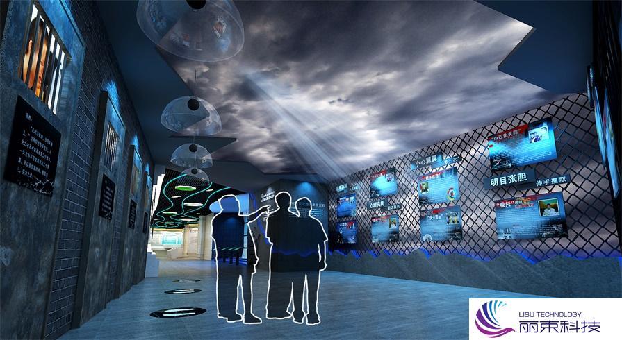 多媒体视频设施互动展示,科技与文化的碰撞_展厅设备