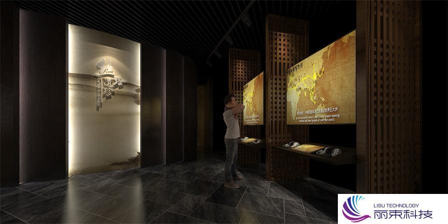 先进多媒体触屏设施,告别传统走向未来!_展厅设计