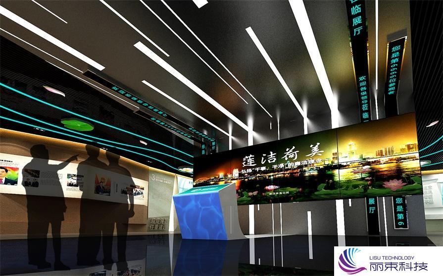 """触屏多媒体设施,一个玩转""""游戏""""的互动乐园 _展厅设计"""