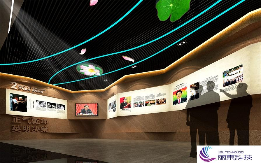 体验中心多媒体触屏互动展示,科技与文化的碰撞_展馆设计