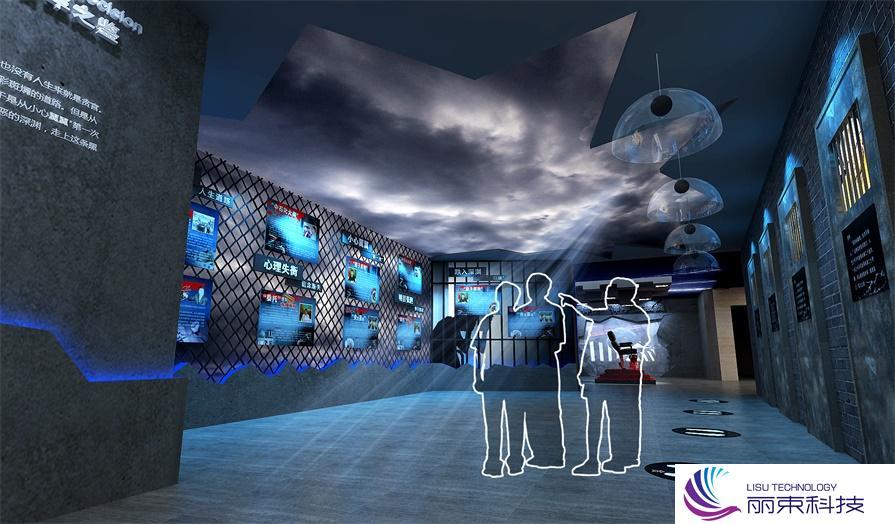 黑科技走进规划馆多媒体科技,厉害了!_展厅设计