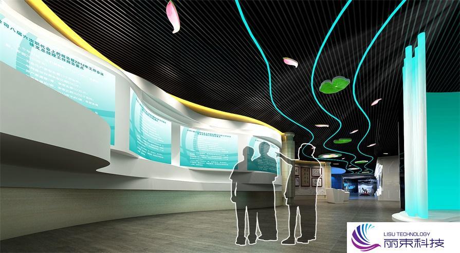 规划馆多媒体交互式,一分钟带你速览高科技_展厅设计