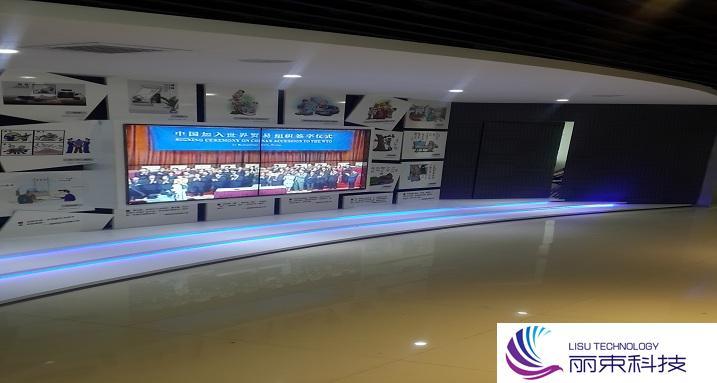 营销展厅多媒体投影,一分钟带你速览高科技_数字技术