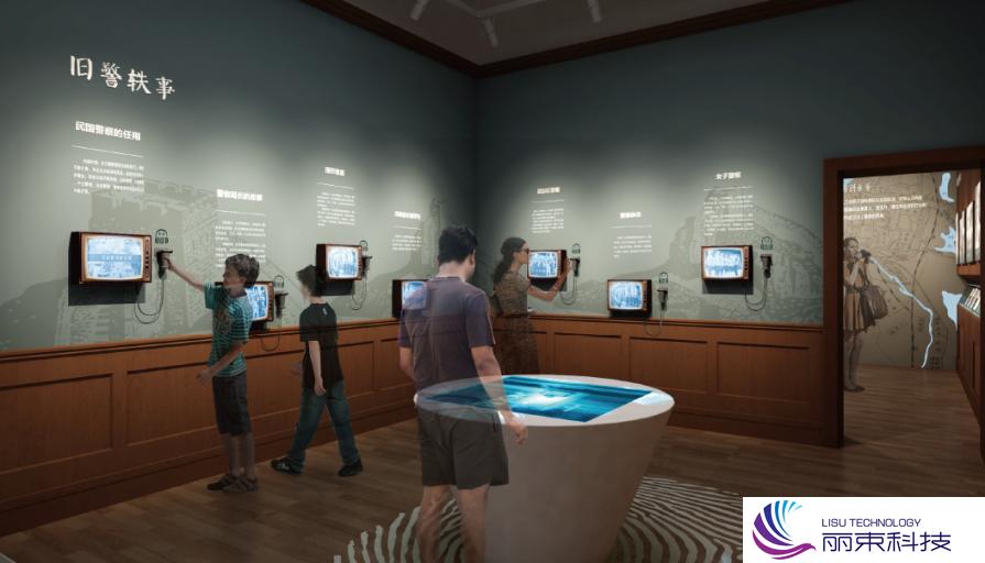 营销展厅多媒体触屏:让我告诉你什么是高科技?_展厅设计