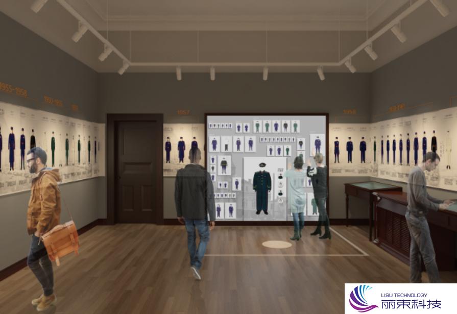 带你去看校史馆多媒体互动,科技的天堂_展馆设计