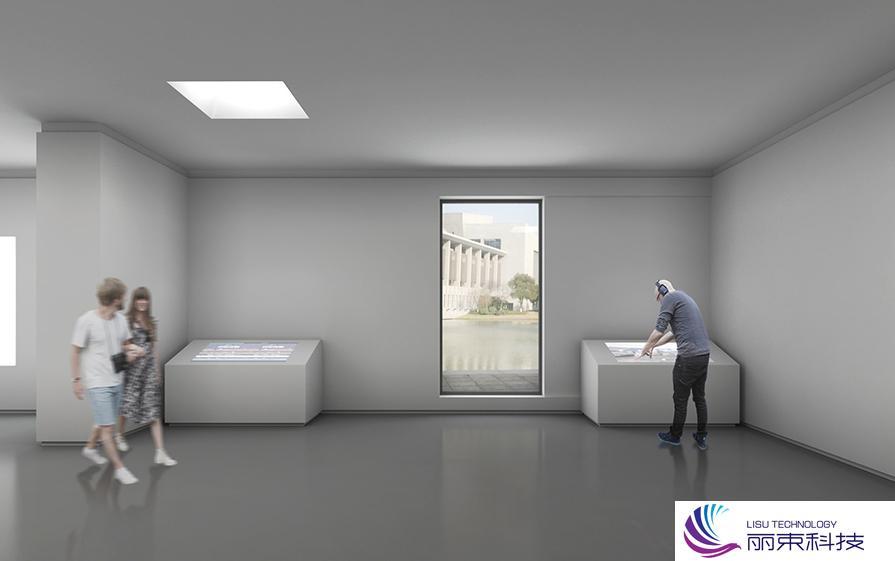 校史馆多媒体投影,一分钟带你速览高科技_展厅设计
