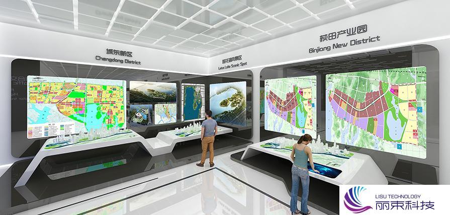 黑科技走进博物馆触摸屏,厉害了!_展馆设计